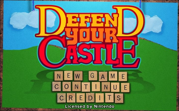 Wii Ware - Defend Your Castle &amp&#x3B; Wild West Guns