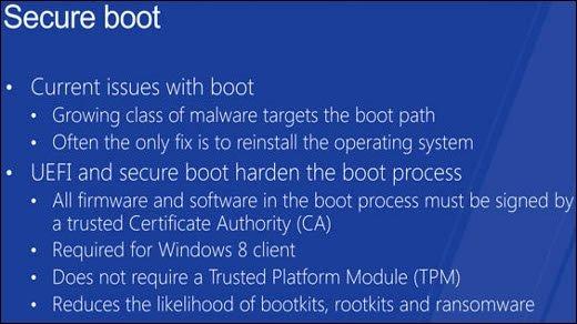 Windows 8 - Viel Aufregung um sicheren UEFI-Boot