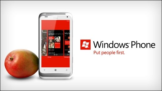 Windows Phone 7.5 - Microsoft rollt Mango-Update für Phone 7-Smartphones aus