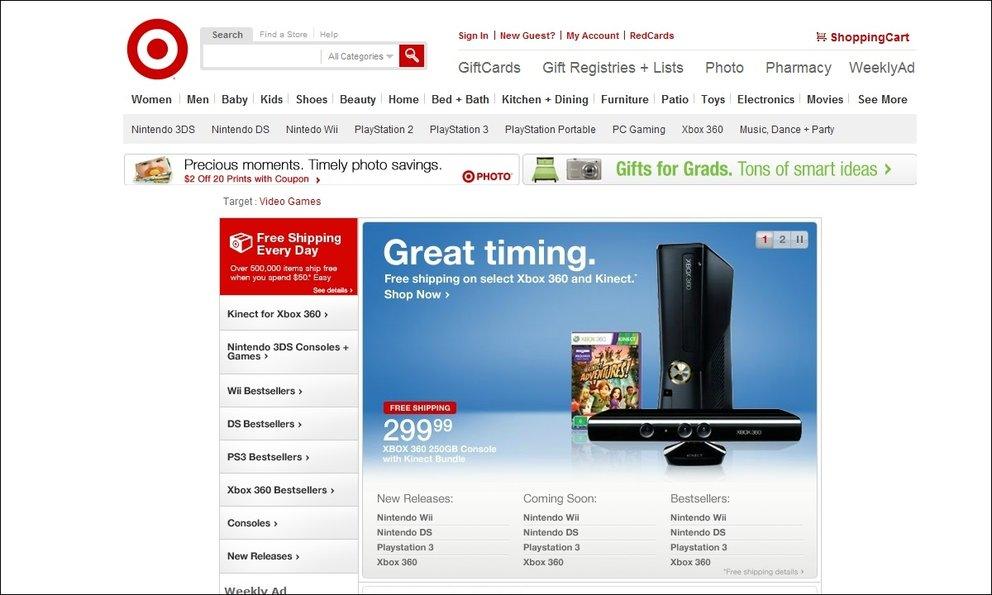 Xbox 360 Kinect - Preissenkung des Bundles um 100$?