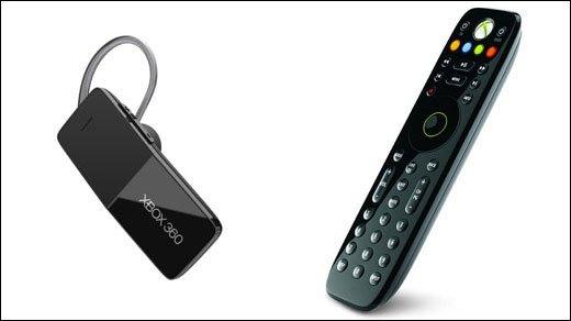 Xbox 360 - Neues Zubehör für Microsofts Gaming-Konsole - Fernbedienung und Bluetooth-Headset