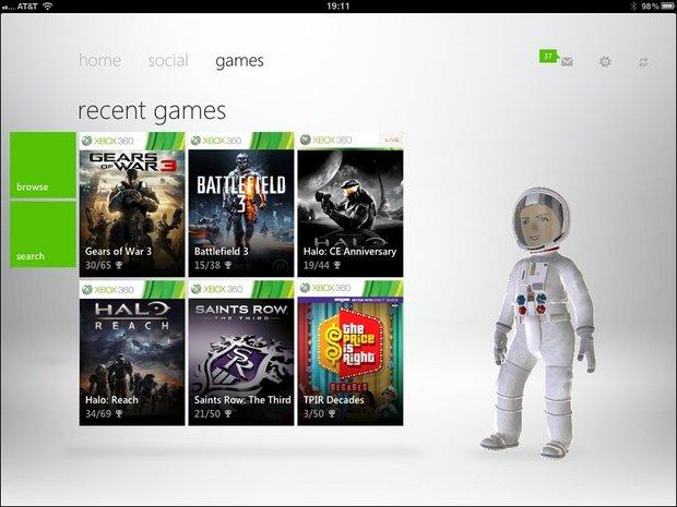 Xbox Live - Kostenlose iOS App veröffentlicht