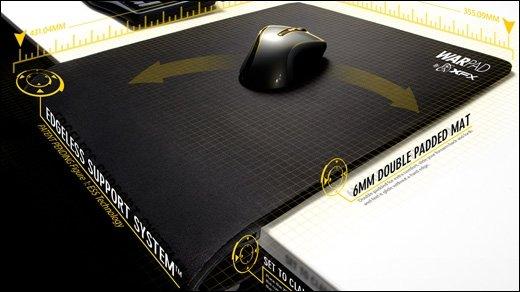 XFX - WarPad - Mousepad zum anklemmen