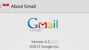 Gmail: App in Android 4.2 mit Pinch-to-Zoom & Wischgesten [Video]