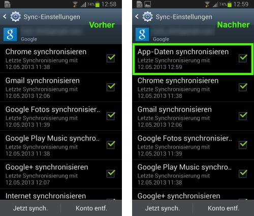 google-app-sync
