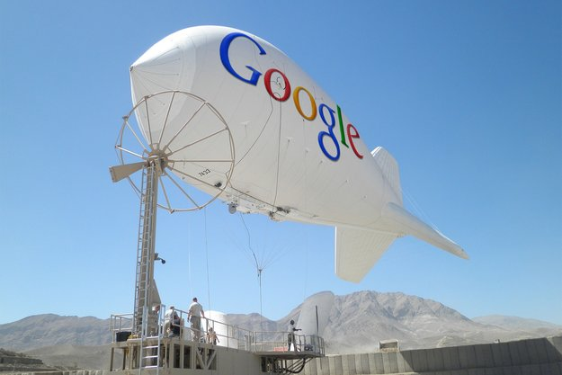 Google: WLAN-Internet aus der Luft für eine Milliarde Menschen geplant