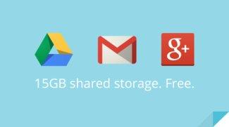 Google: 15 GB Speicher für Gmail, Drive und Google+ Photos zusammengelegt