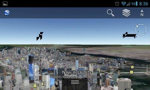 google earth nyc