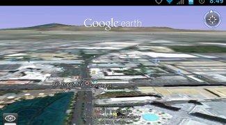 Google Earth: Neue Version mit Bugfix für Tegra 2-Geräte