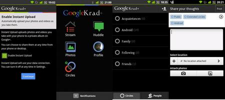 google+ krad screenshots