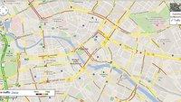 Google Maps: Echtzeit-Verkehrsdaten verbessert