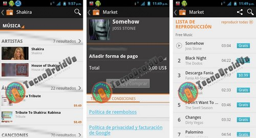 google music android market