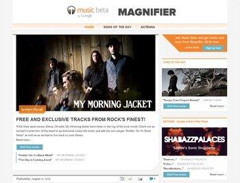 google music magnifier