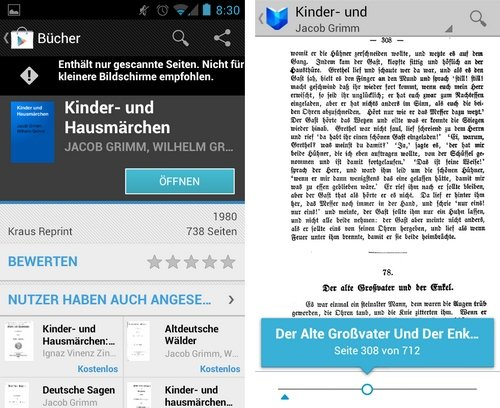 google play books deutsch