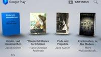 Google Play Books: eBook-Store jetzt in Deutschland verfügbar