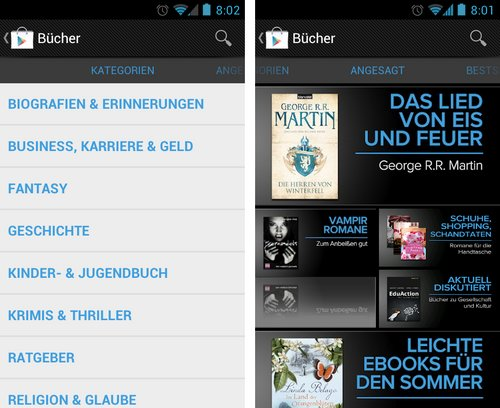 google play store books