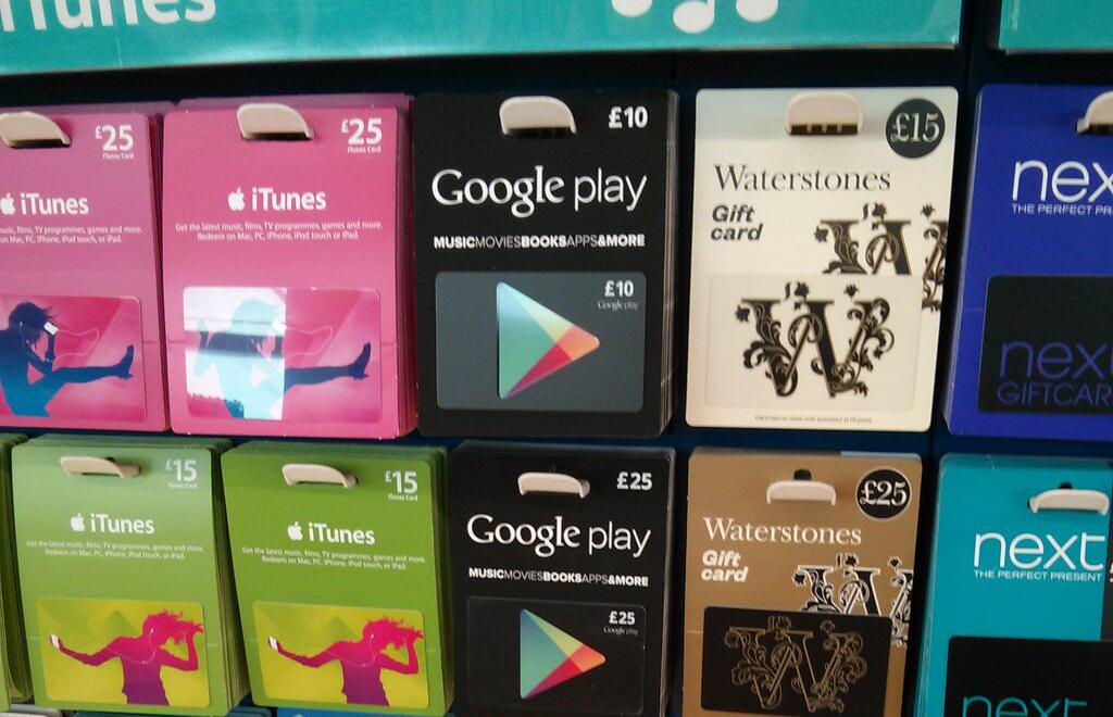 Playstore Karte.Play Store Guthabenkarten Jetzt Auch In Großbritannien Verfügbar
