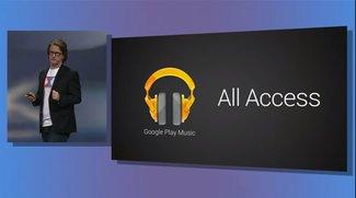 Google Play Music: All Access jetzt in der Schweiz, Liechtenstein und weiteren Ländern verfügbar, die nicht Deutschland sind