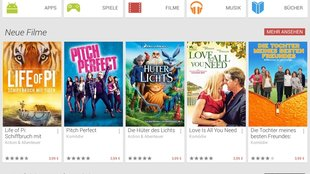 Google Play Store: Android-Designer erklärt neues Flat-Design