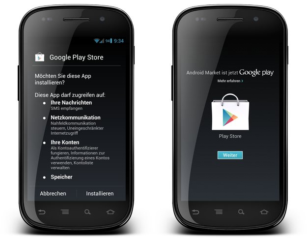 Google Play: Store, Music, Books und Movies als APK zum Download