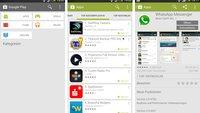 Play Store: Update mit umfassendem Redesign wird verteilt [APK-Download]