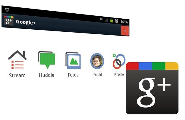 Google+: Ice Cream Sandwich-Update der Android-App als APK-Download