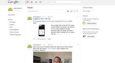 Google+: Unternehmens-Profile online, androidnext ist dabei