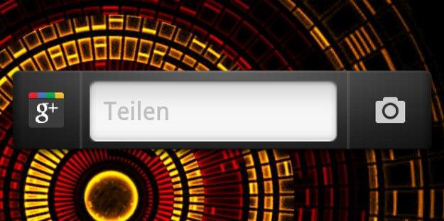 Google+: Android App-Update bringt Widget zurück