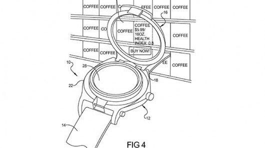 Google: Smartwatch-Konzept patentiert