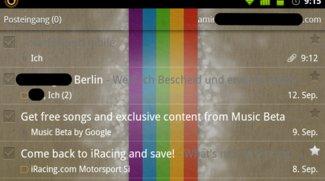 Google Mail für Android: Transparenz-Look gefällig?