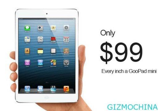 GooPad Mini: Chinesischer iPad mini-Klon für 99 Dollar