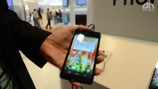 Haier Phone Pad 511: 5,3 Zoll-Phablet im Hands-On [IFA 2012]