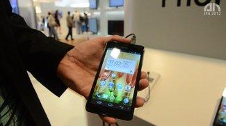 Haier Phone Pad 511: 5,3 Zoll-Phablet im Hands-On [IFA 2012]