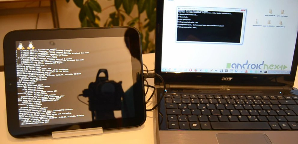 "HP TouchPad: Android 4.0 ""Ice Cream Sandwich"" via CyanogenMod 9 installieren [Video-Anleitung]"