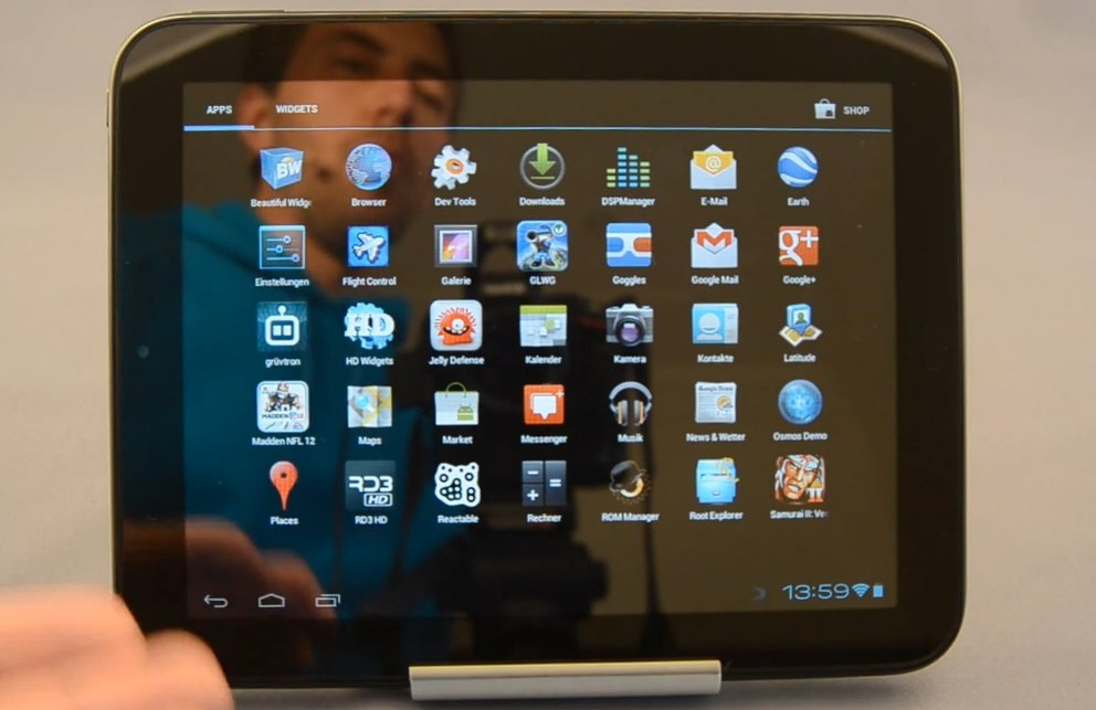 HP TouchPad: Ice Cream Sandwich mit HD-Video dank CM 9 Alpha 1