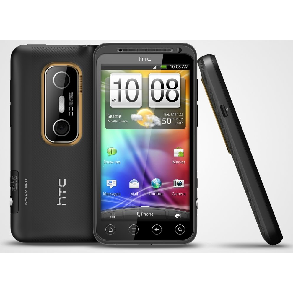 HTC EVO 3D: 3D-Superphone ab Juli auch in Europa