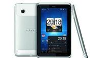 HTC Flyer mit Honeycomb 3.2 und Sense 1.1 in Bildern