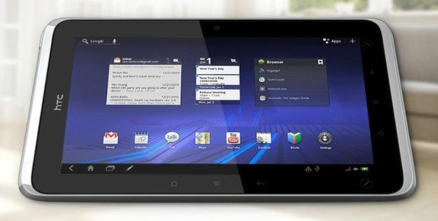 HTC Flyer: Honeycomb-Update aufgetaucht