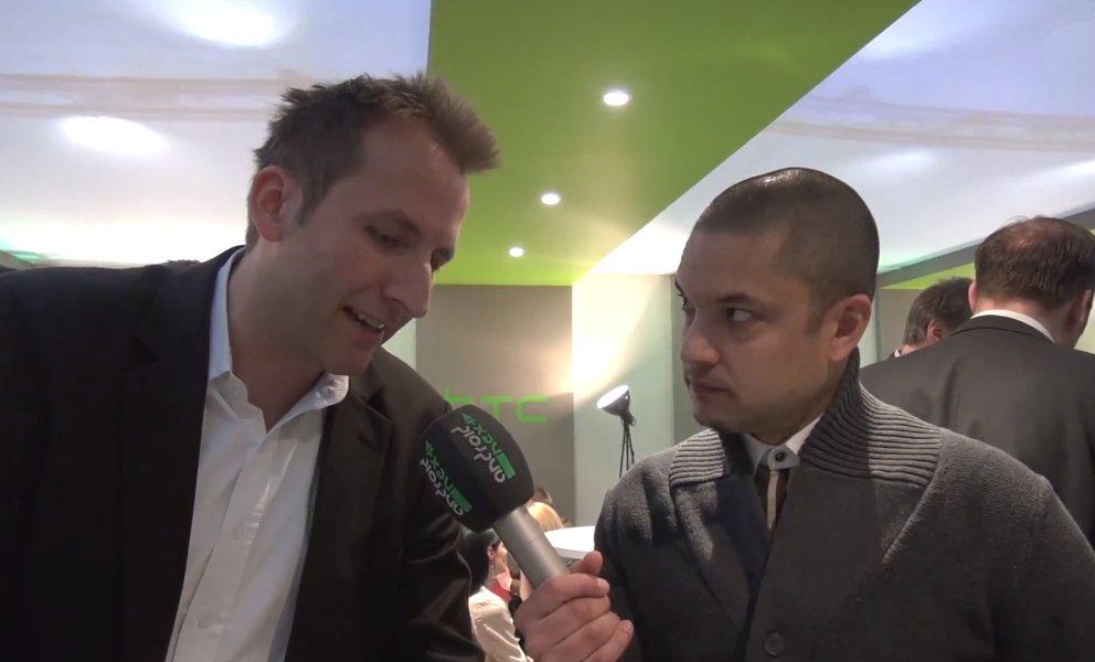 HTC One: Interview mit Fabian Nappenbach von HTC [MWC 2013]