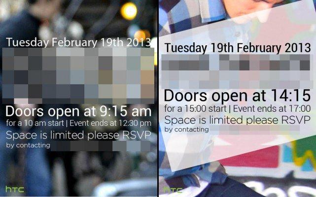 HTC M7: Einladungen für Event am 19. Februar verschickt