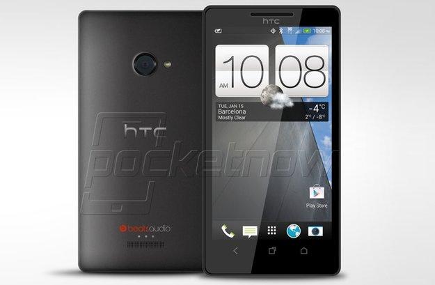 HTC M7: Erstes echtes Renderbild vom Gerät aufgetaucht