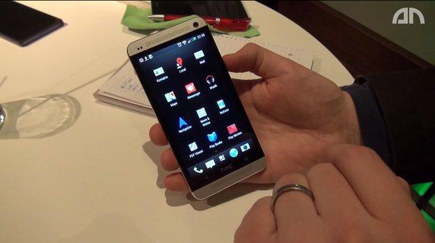 HTC One: Hands-On-Video von Software und Sense5