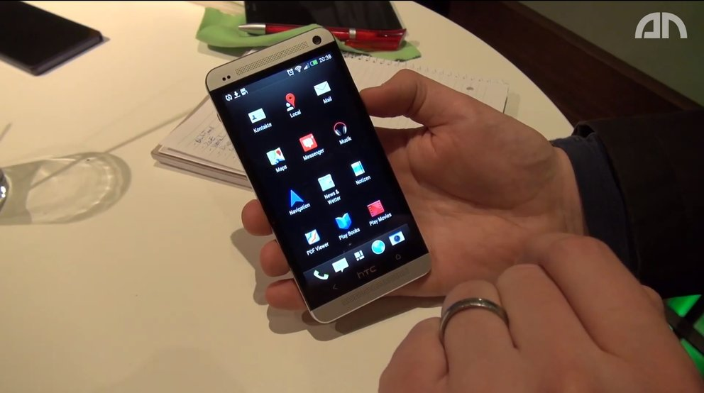 HTC One: Hands-On-Video von Software und Sense&nbsp&#x3B;5