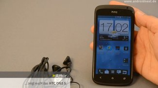 HTC One S: Angekommen und angeschaut [First Look-Video]