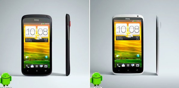 HTC One X und One S: Fotos der beiden Smartphones aufgetaucht