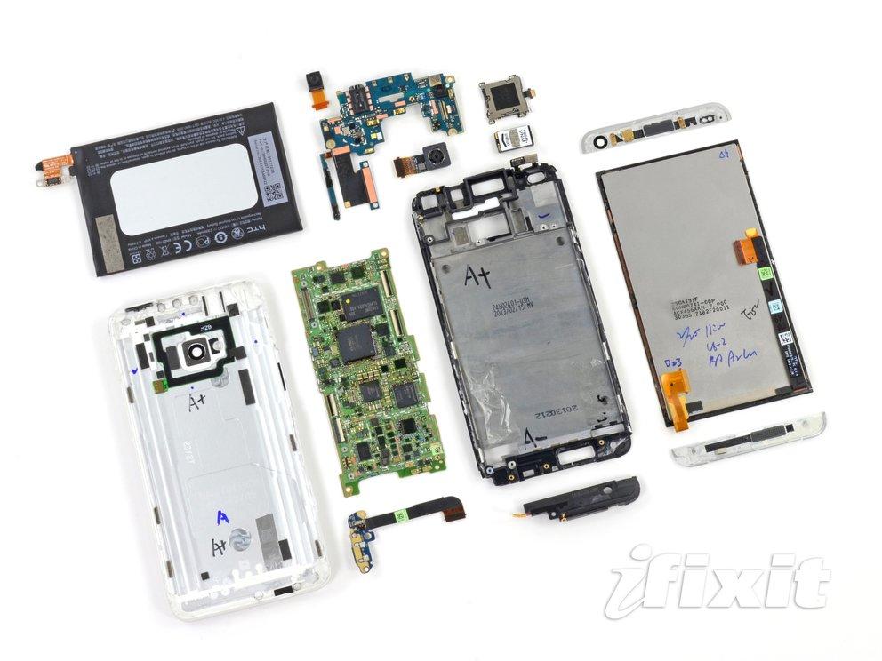 HTC One: Von iFixit auseinandergenommen, kaum reparierbar