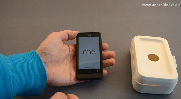 HTC One V: Unboxing-Video des Legend-Nachfolgers