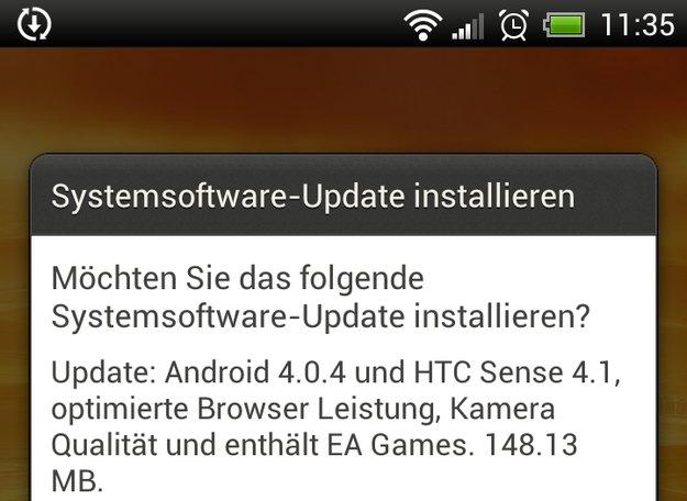 HTC One X: Update bringt Android 4.0.4 und Sense 4.1