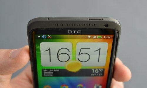 htc one x top view