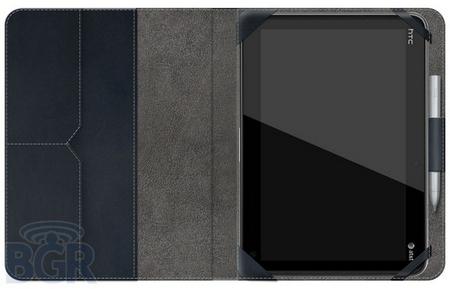 HTC Puccini mit Ledercase und Magic Pen